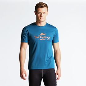 Dare 2b Typescript - T-shirt manches courtes Homme - bleu